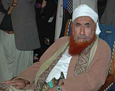 الشيخ العالم اليمني عبدالمجيد الزنداني عبدالمجيد الزنداني