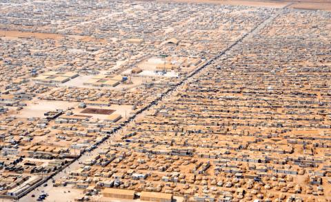 مصرع مدني غارات استهدفت مخيمًا An_Aerial_View_of_the_Za'atri_Refugee_Camp.jpg?itok=yU_UJbcY